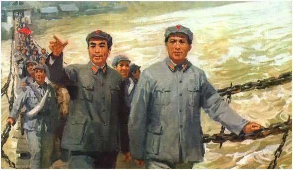 画集《毛主席在长征途中》插图19