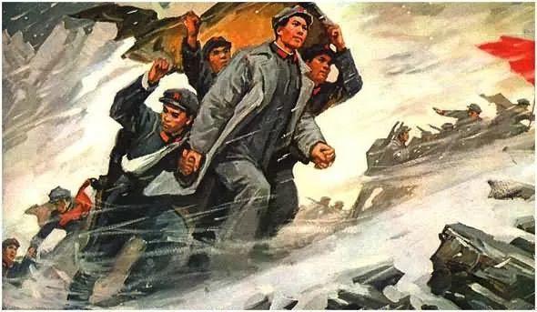画集《毛主席在长征途中》插图21