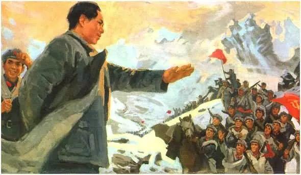 画集《毛主席在长征途中》插图22