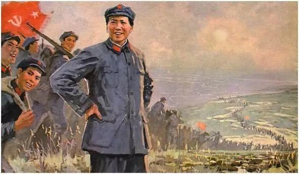 画集《毛主席在长征途中》插图26