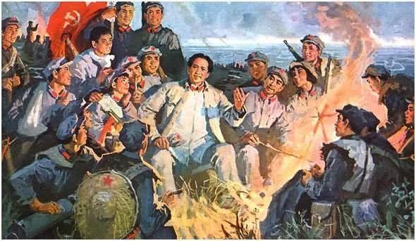 画集《毛主席在长征途中》插图27