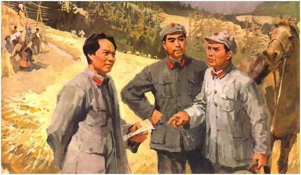 画集《毛主席在长征途中》插图29