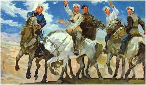 画集《毛主席在长征途中》插图32