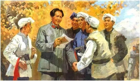 画集《毛主席在长征途中》插图33