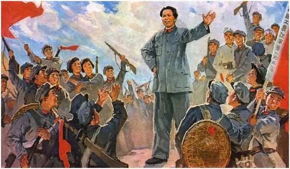 画集《毛主席在长征途中》插图34