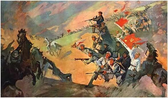 画集《毛主席在长征途中》插图35