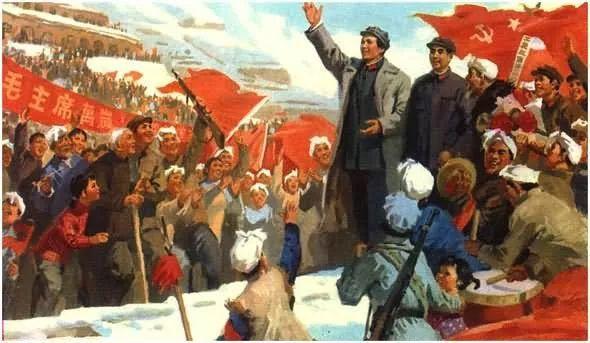 画集《毛主席在长征途中》插图36