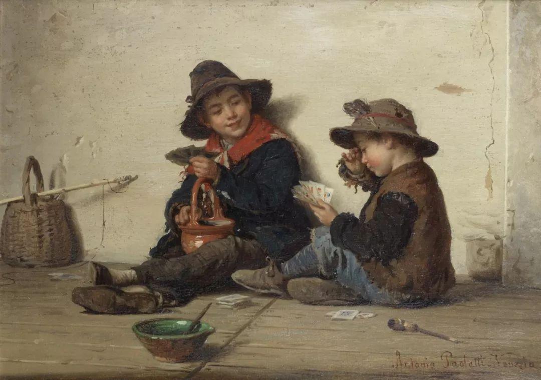 描绘市井妇女和儿童的生活景象插图1