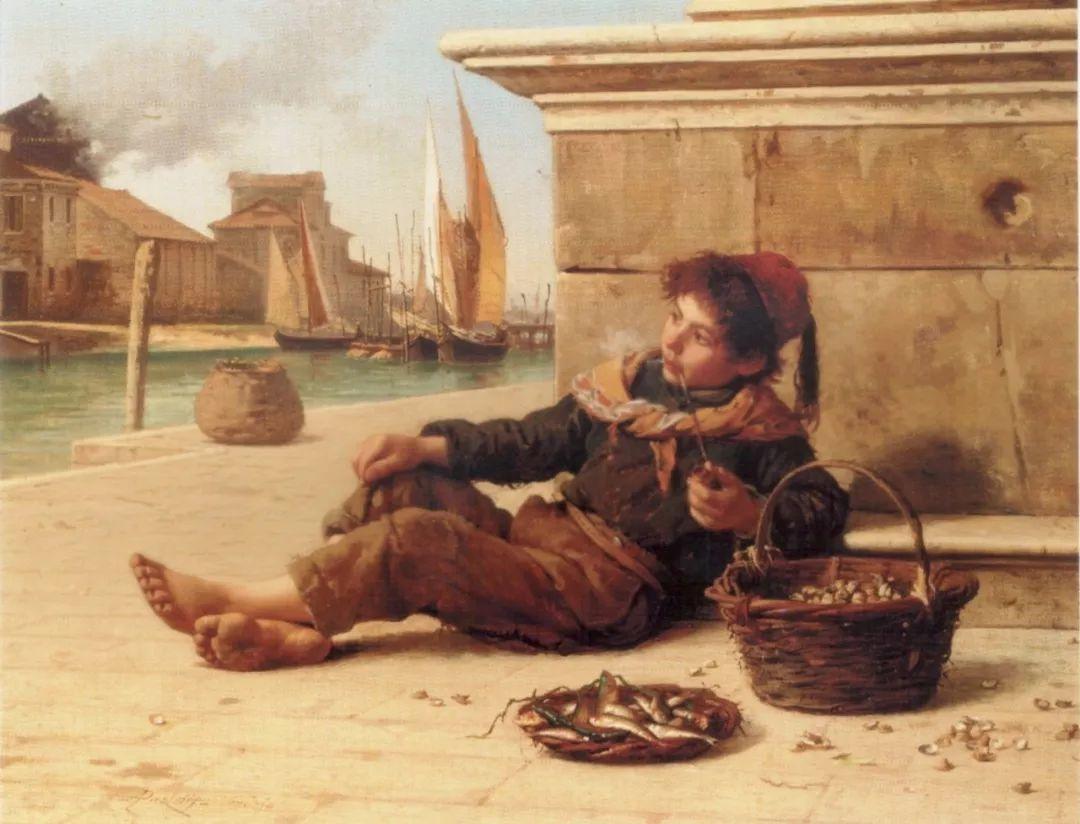 描绘市井妇女和儿童的生活景象插图2