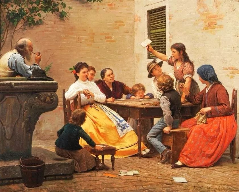 描绘市井妇女和儿童的生活景象插图17