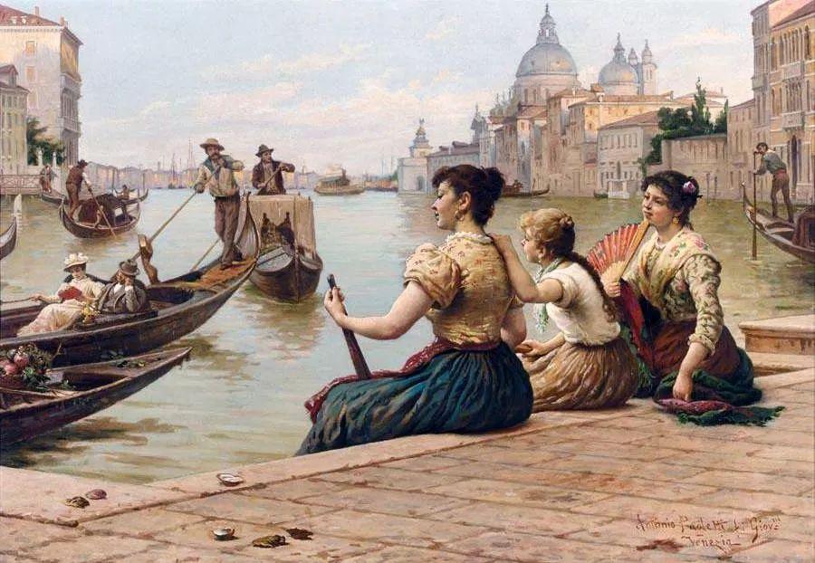 描绘市井妇女和儿童的生活景象插图18