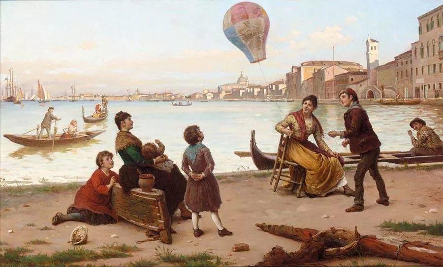 描绘市井妇女和儿童的生活景象插图19