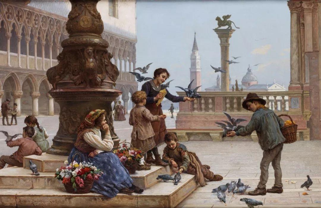 描绘市井妇女和儿童的生活景象插图22