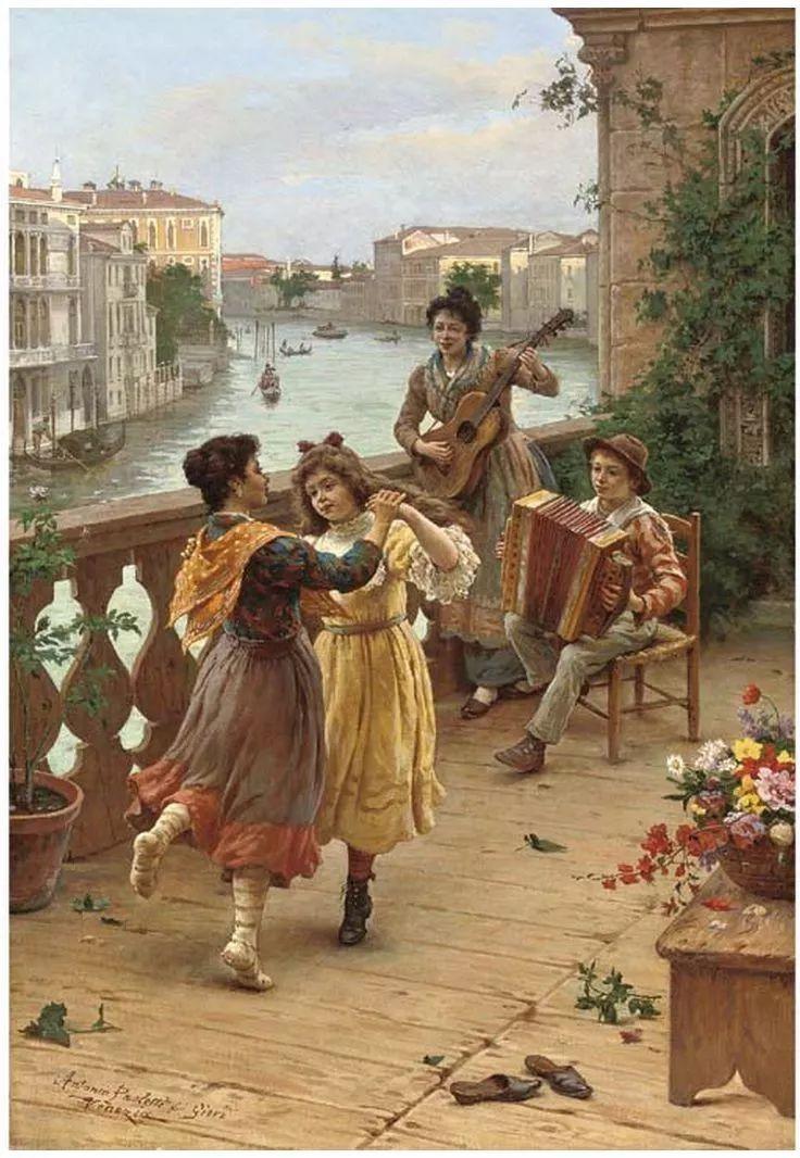 描绘市井妇女和儿童的生活景象插图25