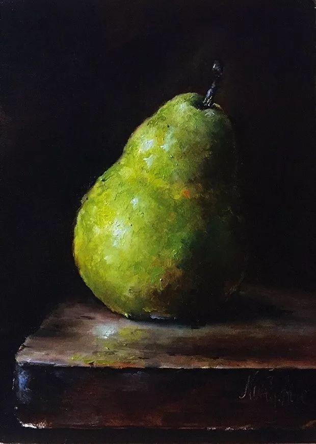 水果作品欣赏,美国女艺术家Nina R.Aide插图