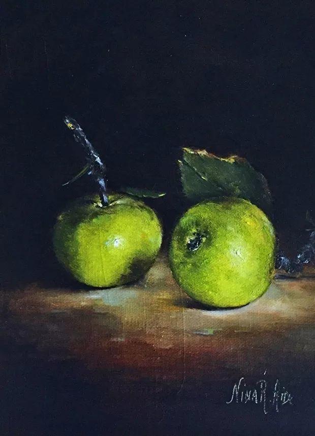 水果作品欣赏,美国女艺术家Nina R.Aide插图2