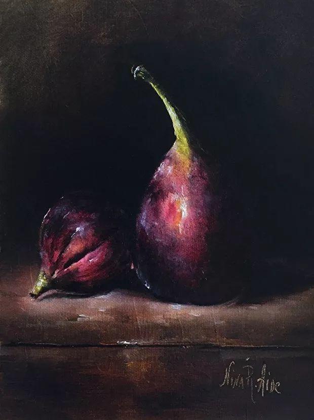 水果作品欣赏,美国女艺术家Nina R.Aide插图3