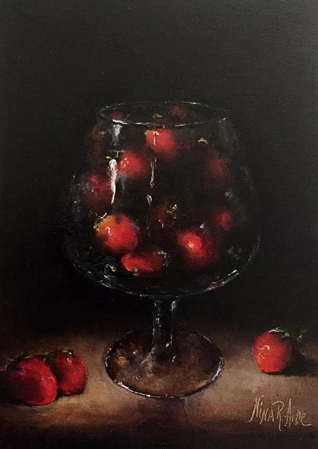 水果作品欣赏,美国女艺术家Nina R.Aide插图4