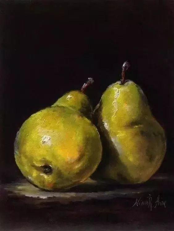 水果作品欣赏,美国女艺术家Nina R.Aide插图7