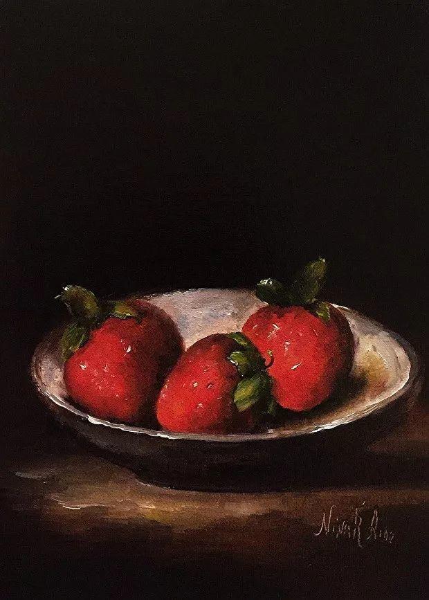 水果作品欣赏,美国女艺术家Nina R.Aide插图8