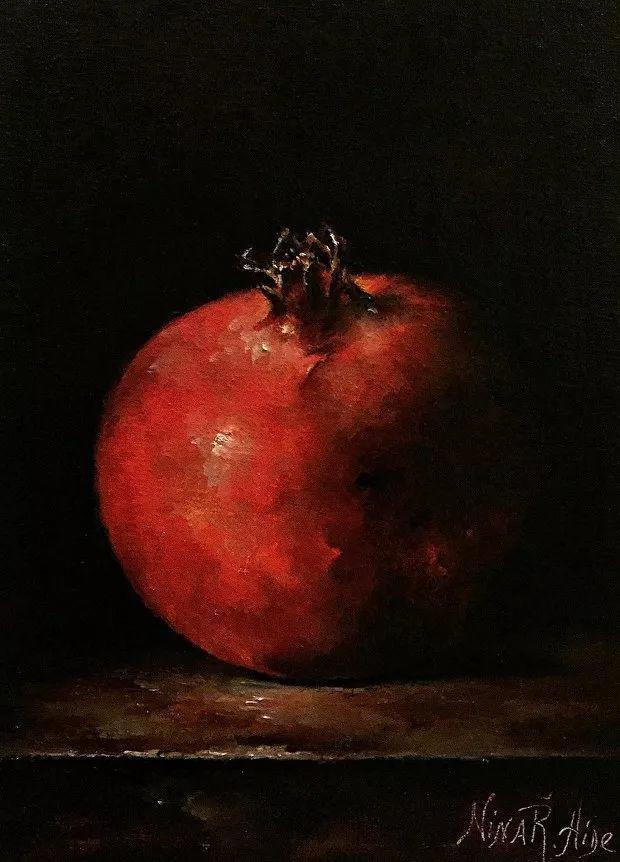 水果作品欣赏,美国女艺术家Nina R.Aide插图9