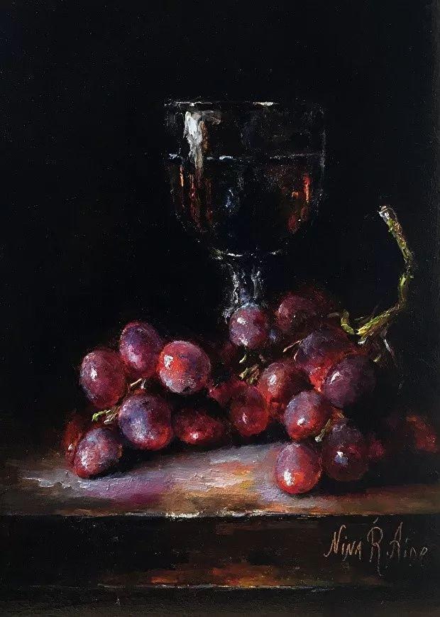 水果作品欣赏,美国女艺术家Nina R.Aide插图12