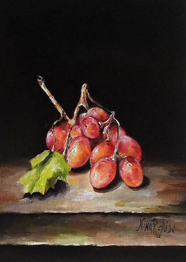 水果作品欣赏,美国女艺术家Nina R.Aide插图13