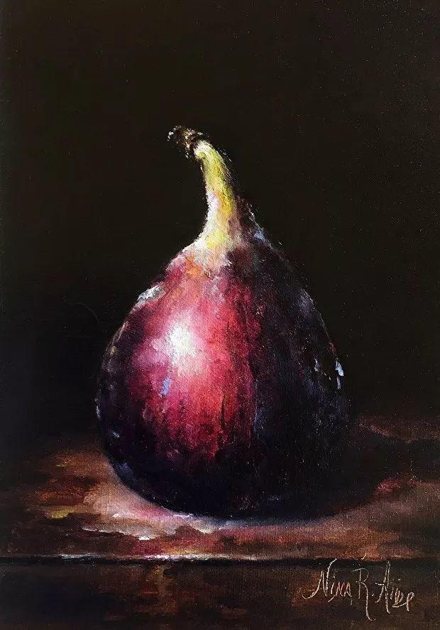 水果作品欣赏,美国女艺术家Nina R.Aide插图14