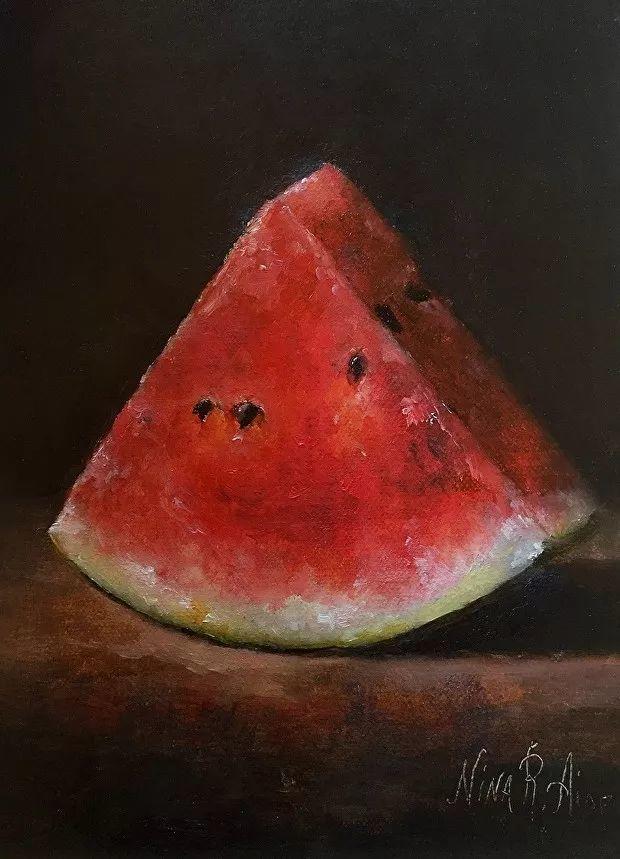 水果作品欣赏,美国女艺术家Nina R.Aide插图15