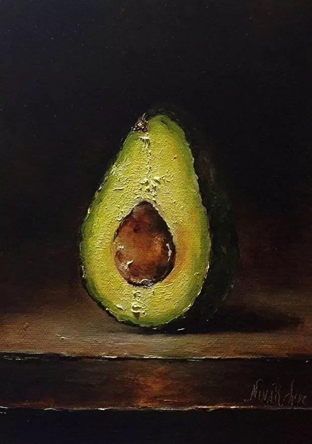 水果作品欣赏,美国女艺术家Nina R.Aide插图16