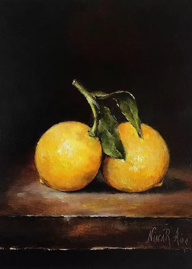 水果作品欣赏,美国女艺术家Nina R.Aide插图17