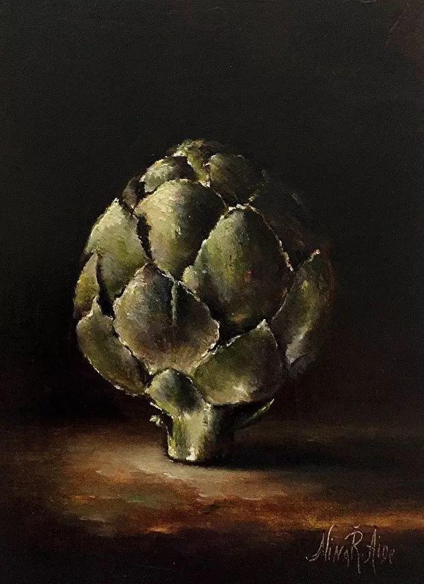 水果作品欣赏,美国女艺术家Nina R.Aide插图18