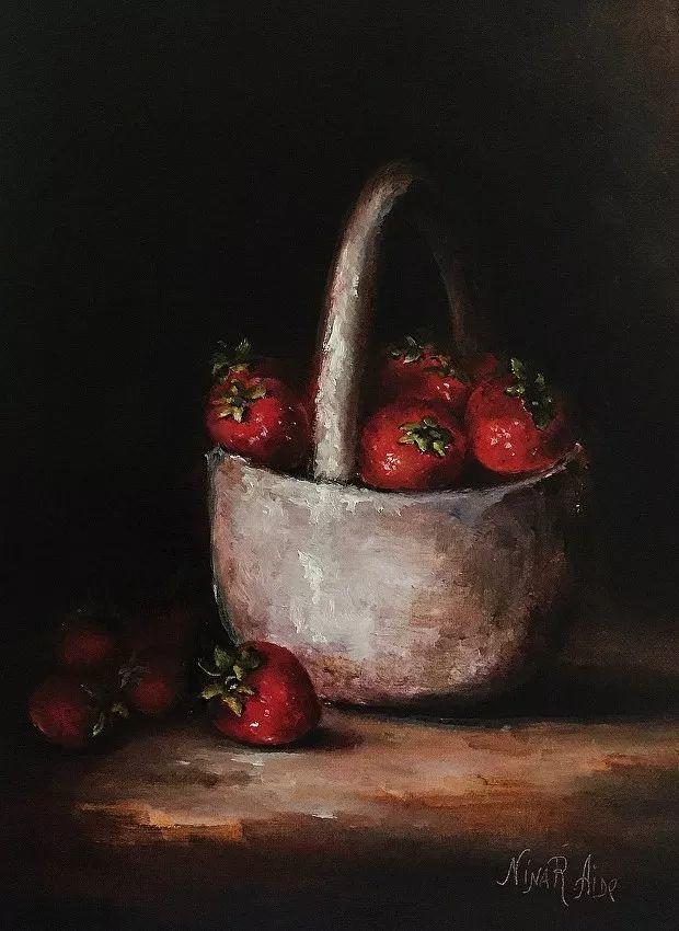 水果作品欣赏,美国女艺术家Nina R.Aide插图20