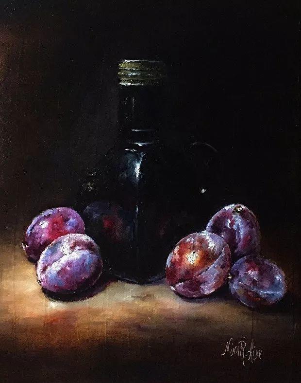 水果作品欣赏,美国女艺术家Nina R.Aide插图21