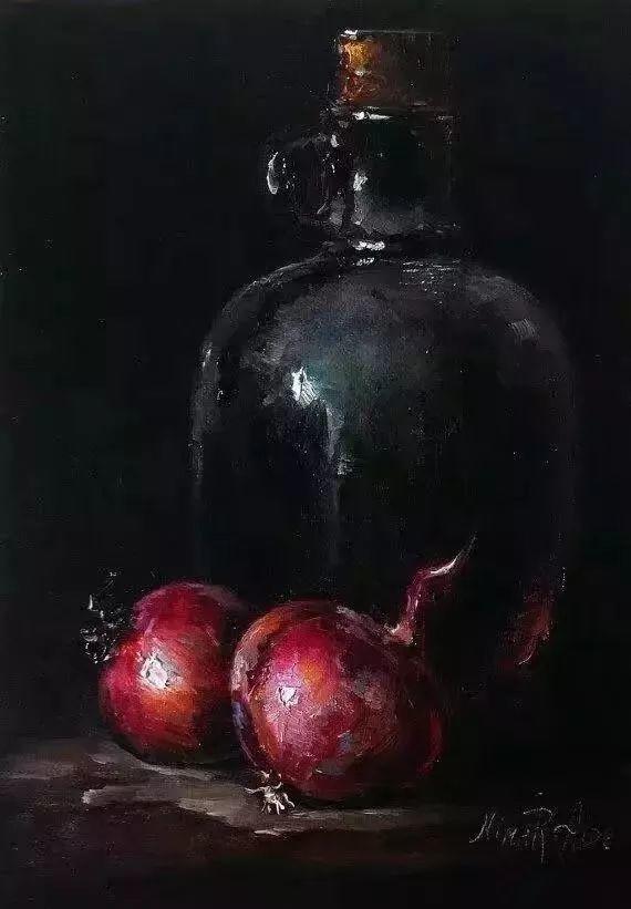 水果作品欣赏,美国女艺术家Nina R.Aide插图24