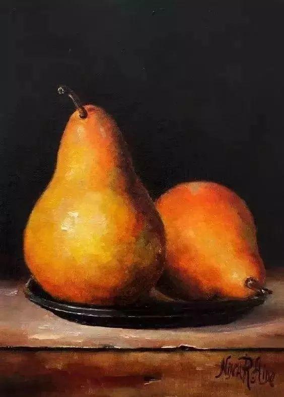 水果作品欣赏,美国女艺术家Nina R.Aide插图26