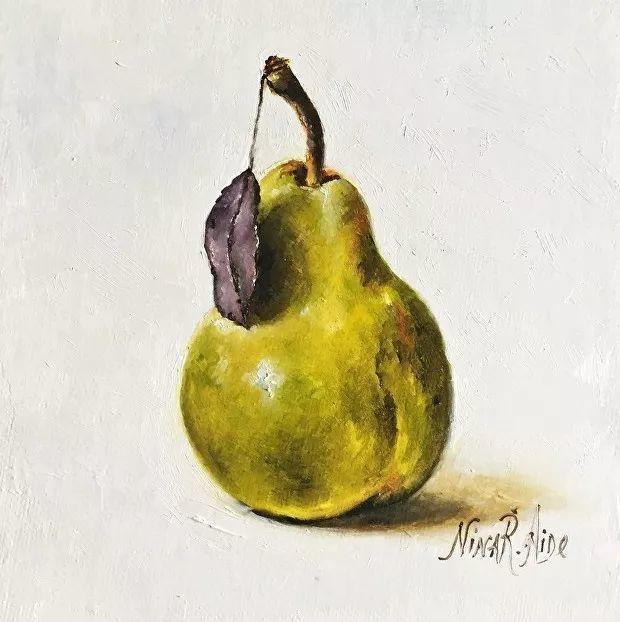 水果作品欣赏,美国女艺术家Nina R.Aide插图28