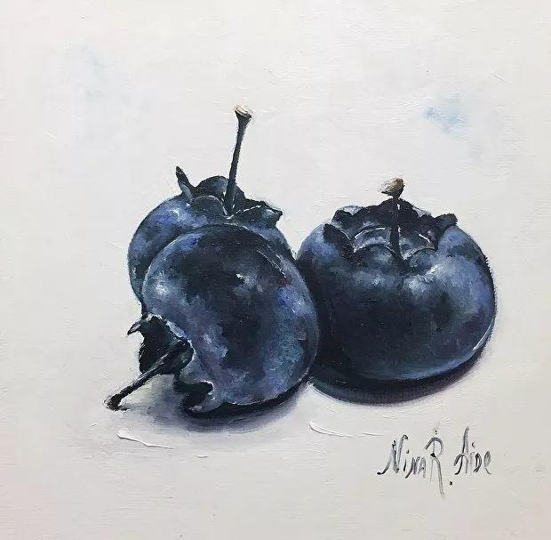 水果作品欣赏,美国女艺术家Nina R.Aide插图32