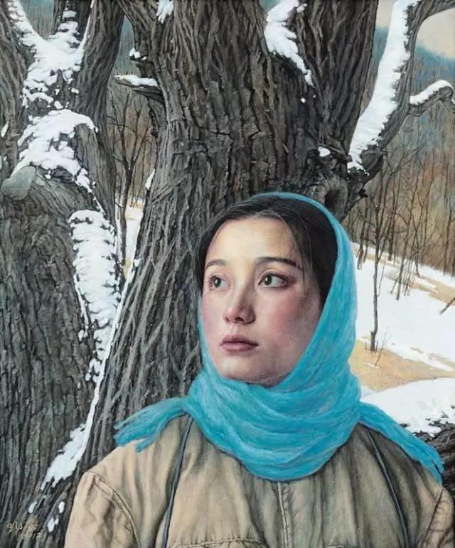 油画中最美女知青插图31