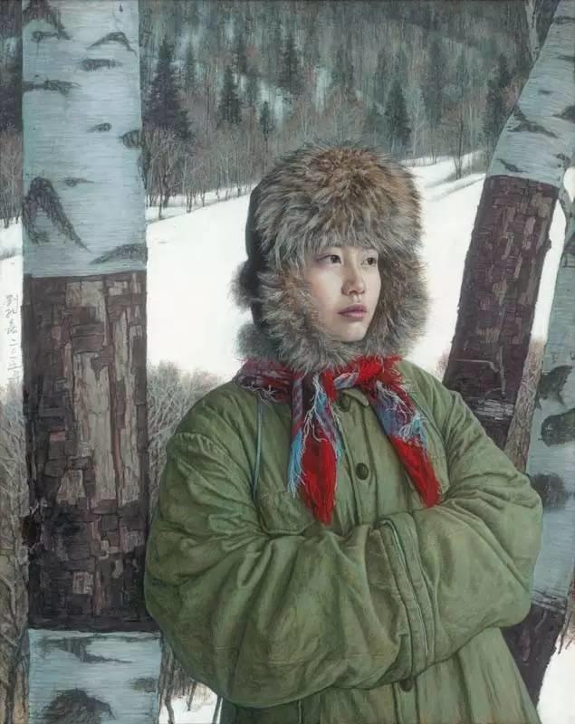 油画中最美女知青插图43