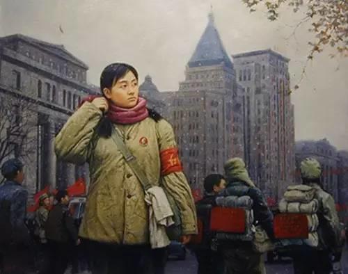 油画中最美女知青插图67