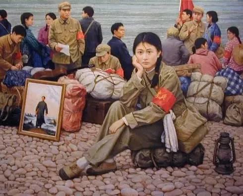 油画中最美女知青插图91