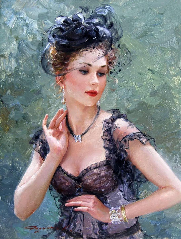 三位画家对女性的美诠释:或温婉含蓄,或妩媚娇艳,或律动健康插图