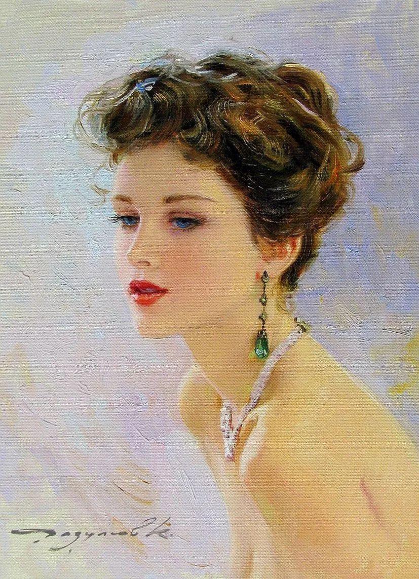 三位画家对女性的美诠释:或温婉含蓄,或妩媚娇艳,或律动健康插图10