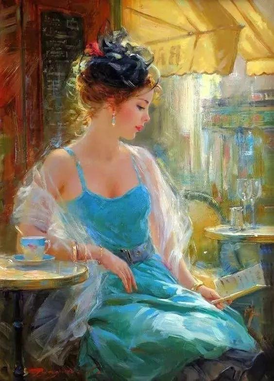 三位画家对女性的美诠释:或温婉含蓄,或妩媚娇艳,或律动健康插图17