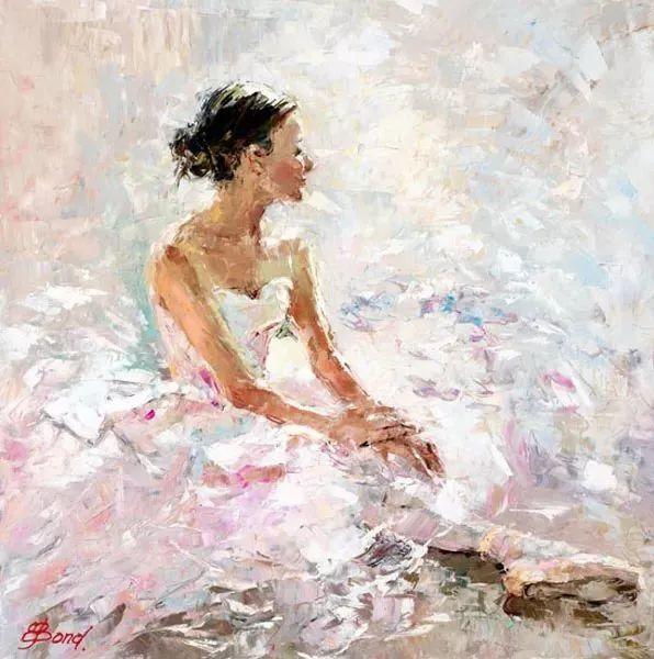 三位画家对女性的美诠释:或温婉含蓄,或妩媚娇艳,或律动健康插图18