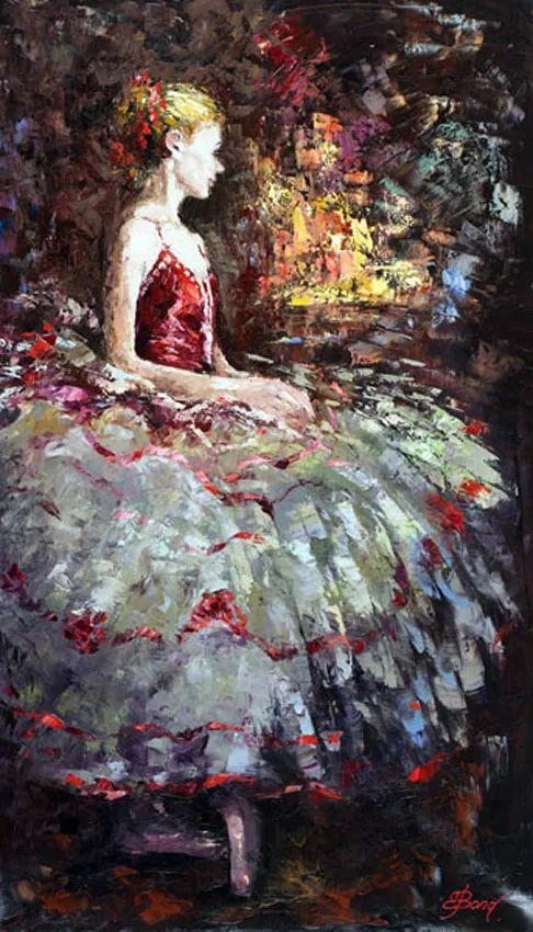 三位画家对女性的美诠释:或温婉含蓄,或妩媚娇艳,或律动健康插图21