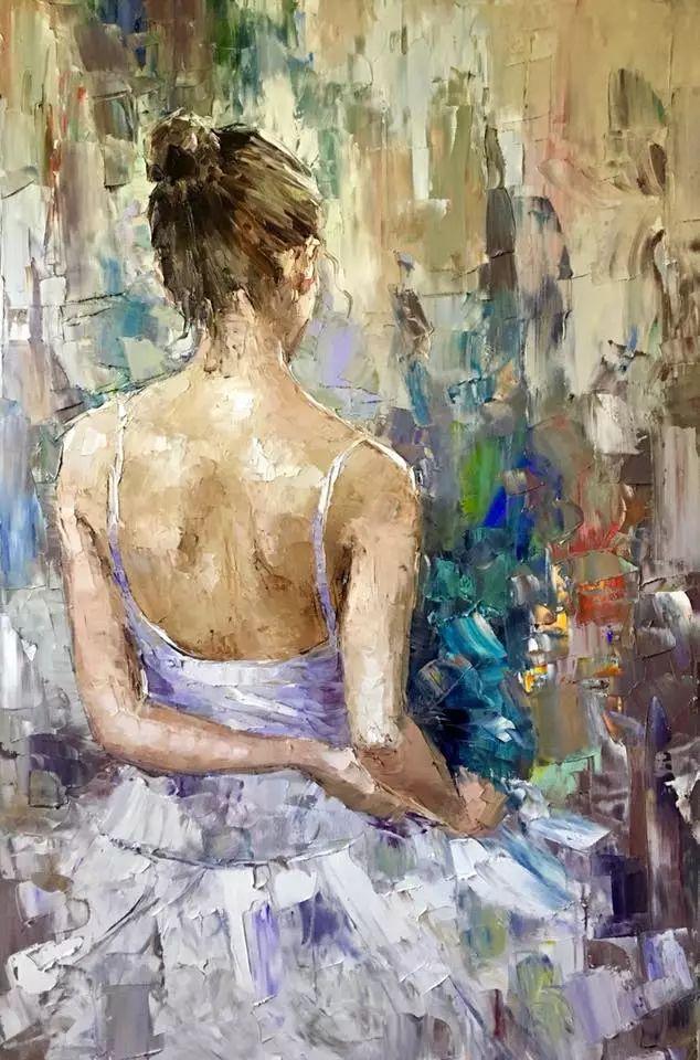 三位画家对女性的美诠释:或温婉含蓄,或妩媚娇艳,或律动健康插图22