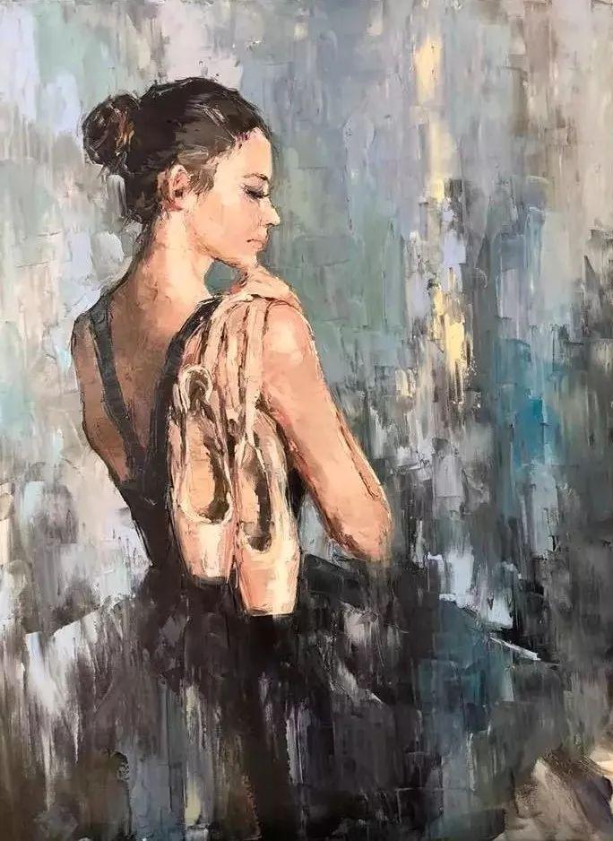 三位画家对女性的美诠释:或温婉含蓄,或妩媚娇艳,或律动健康插图23