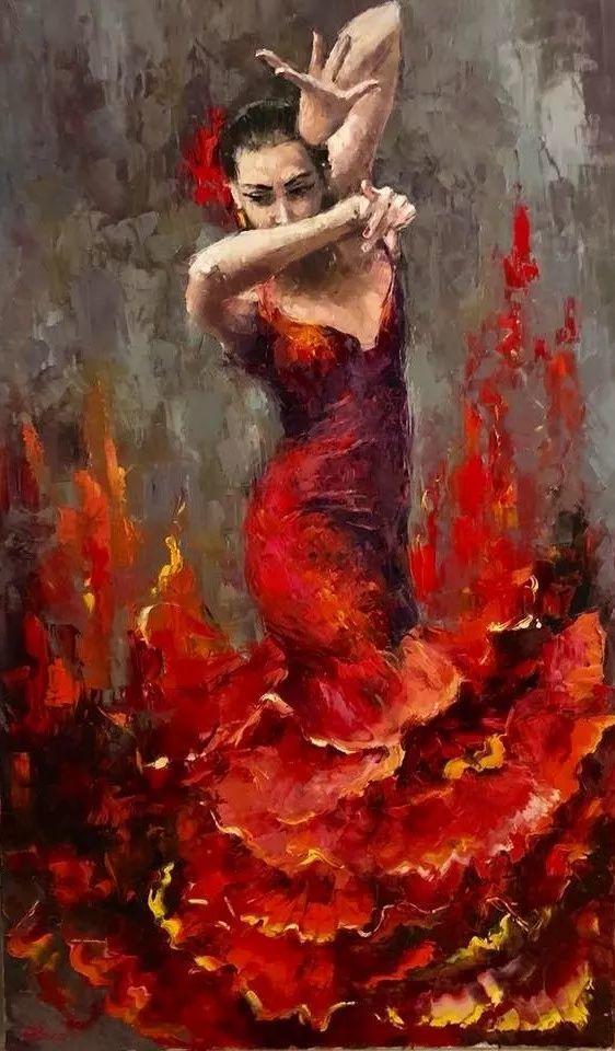 三位画家对女性的美诠释:或温婉含蓄,或妩媚娇艳,或律动健康插图26
